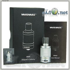 WISMEC Amor - сабомный атомайзер танк.