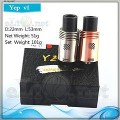 [Yep] YEP V1 RDA - обслуживаемый атомайзер для дрипа. Оригинал