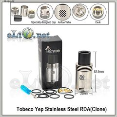 [Tobeco] YEP V1 RDA - ОА для дрипа из нержавеющей стали. Клон