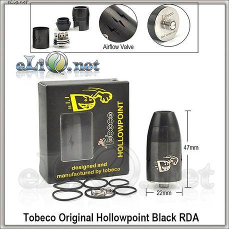 Tobeco Hollowpoint  RDA - оригинальный ОА для дрипа.