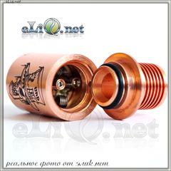 [Yep] Mad Hatter RDA - Обслуживаемый атомайзер для дрипа. Безумный шляпник. + 50ml жидкости Hangsen в подарок
