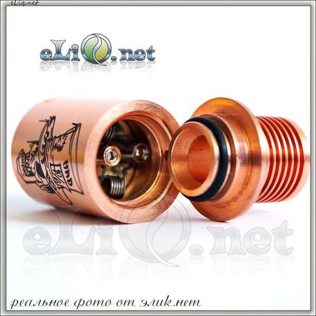 [Yep] Mad Hatter RDA - Обслуживаемый атомайзер для дрипа. Шляпочник.