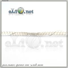 Намотка: 2.4 Ом спираль, 2.5 мм фитиль плетенный