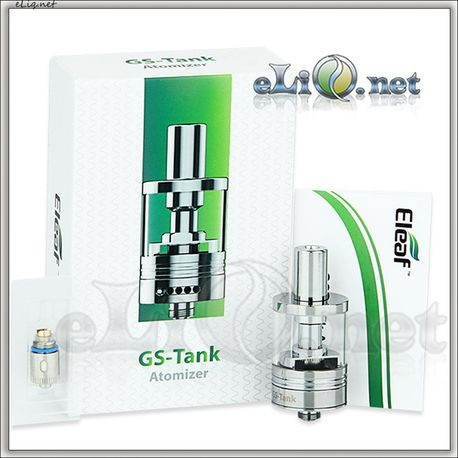 Eleaf GS-Tank TC 3мл. Клиромайзер-танк с никелевыми испарителями.