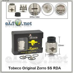 Tobeco Zorro  RDA - оригинальный ОА для дрипа.