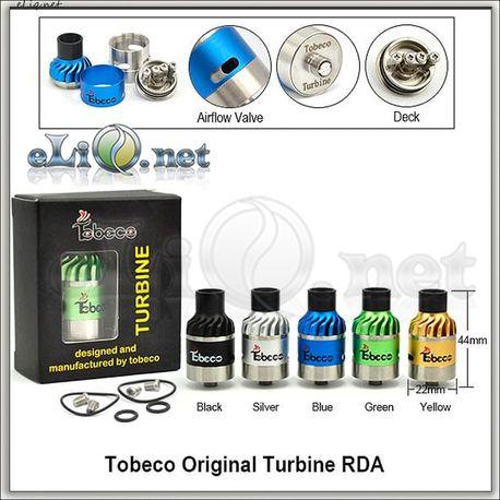 Tobeco Original Turbine RDA - оригинальный ОА для дрипа.
