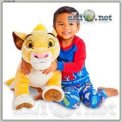 Огромный львенок Симба мягкая плюшевая игрушка Disney the Lion King