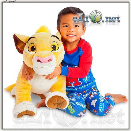 Огромный плюшевый львенок Симба.(Disney)