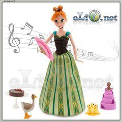 Набор Принцесса Анна с аксессуарами (Frozen, Disney) Холодное сердце, Дисней оригинал США