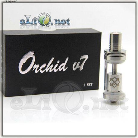 Orchid V7 SS - обслуживаемый атомайзер. Орхидея.