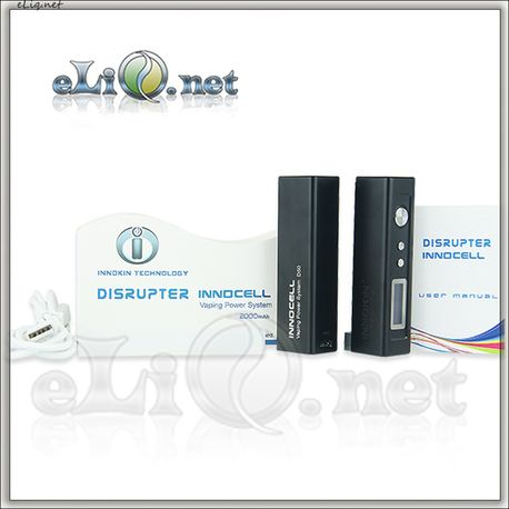 50W Innokin Disrupter InnoCell VV/VW Kit - 2000mAh
