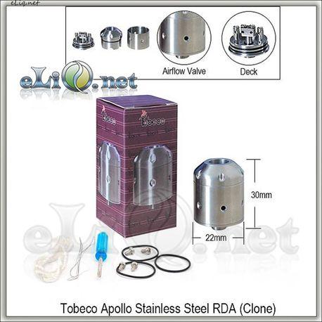 [Tobeco] Apollo RDA - ОА для дрипа из нержавеющей стали. Клон