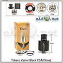 [Tobeco] Vector RDA - ОА для дрипа из нержавеющей стали. Клон