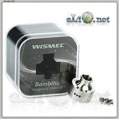 WISMEC Bambino RDA - обслуживаемый атомайзер для дрипа.