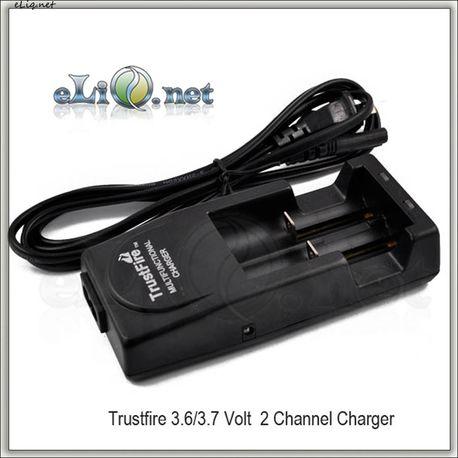 TrustFire TR-001 - Зарядное устройство для 2х Li-ion аккумуляторов.