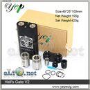 [Yep] Hell's Gate V2 - механический мод под 2 аккумулятора 18650 плюс 2 RDA атомайзера
