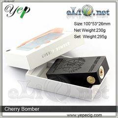 Yep Cherry Bomber mech box mod - механический боксмод под 2 аккумулятора