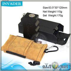 Tesla Invader M. box mod - деревянный механический боксмод