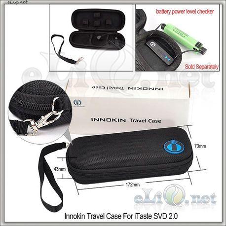 [Innokin] Travel Case For iTaste SVD 2.0 / Кейс с вольтметром для электронной сигареты.