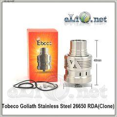 Tobeco Goliath 26650 RDA - ОА для дрипа. клон.