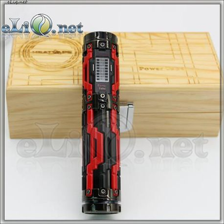 [TC] Heatvape Power Tube 60W TC. Трубомод-вариватт с температурным контролем.