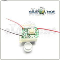 Платка с кнопкой для ремонта eGo - батарейки