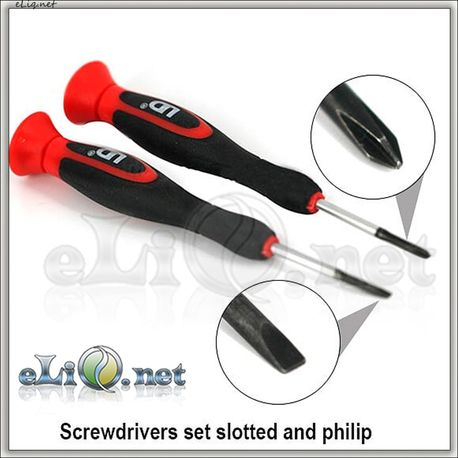 UD Youde 2pc Screwdrivers Set - набор отверток.