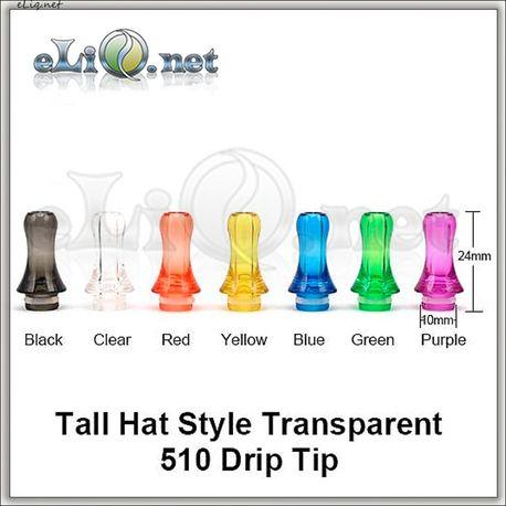 [510] Дрип-тип из акрила. Tall Hat. Тип 2527