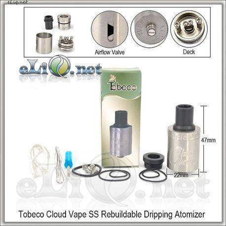 [Tobeco] Cloud Vape RDA - ОА для дрипа. клон.