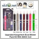[KangerTech] Улучшенный набор. Upgraded Evod Blister Pack Kit With SOCC Coil