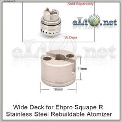 EHPRO Wide Deck for Squape R RTA/ Широкая база.
