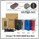 Cloupor T6 100W 26650 Box Mod - боксмод вариватт.
