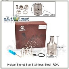 Hcigar Signet Star RDA - ОА для дрипа из нержавеющей стали. клон.