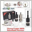Yiloong Fogger 26650 Rebuildable Atomizer. Обслуживаемый атомайзер, оригинал. Большой Фоггер.