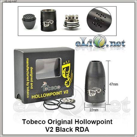 Tobeco Hollowpoint V2 RDA - оригинальный ОА для дрипа.
