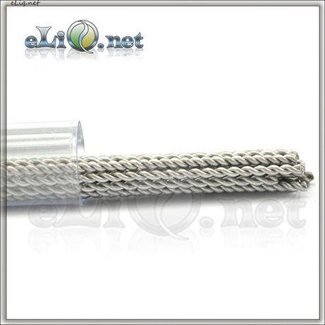Twisted Kanthal Rod Wire (0.8mm, 20ga) - Скрученная канталовая проволока.