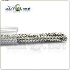 Twisted Kanthal Rod Wire (0.4mm, 26ga) - Скрученная канталовая проволока.