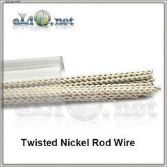 Twisted Nickel Rod Wire (0.4mm, 26ga) - Скрученная никелевая проволока.