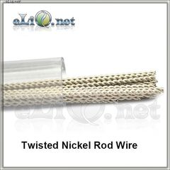 Twisted Kanthal & Nickel Rod Wire (0.3mm, 28ga) - кантал + никель.