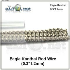 Eagle Kanthal Rod Wire (0.3 * 1.2mm) - витой плоский кантал.