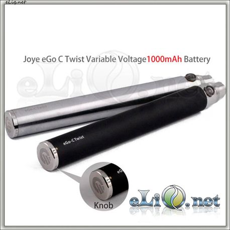 [Joyetech] Joye eGo-C Twist Variable Voltage 1000mAh battery