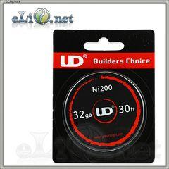 UD Никель Nickel 200 d 0.2мм (32ga), 10м.