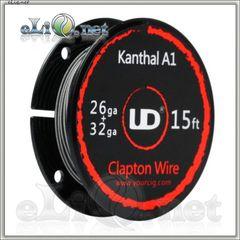 UD Clapton Kanthal  Wire (26ga+32ga) - клэптон кантал.