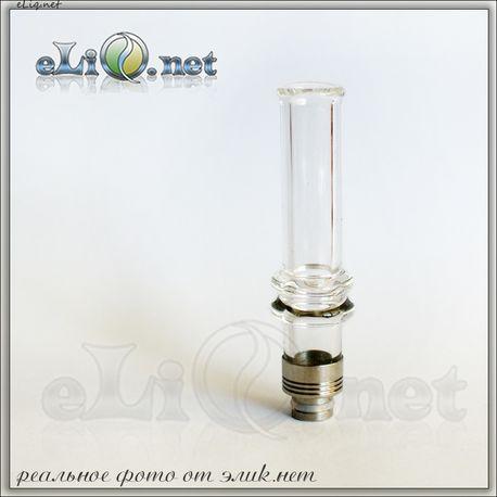 [510] Huge Glass Drip Tip. Огромный стеклянный дрип-тип. SG13A