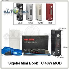 Sigelei Mini Book TC 40W MOD - мини боксмод вариватт с температурным контролем.