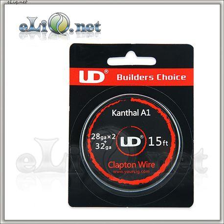UD Clapton Kanthal  Wire (28ga х 2+32ga) - клэптон кантал.