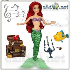 Поющая Ариэль, Дисней оригинал. Ariel Disney США, Русалочка Ариель
