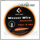 [GeekVape] Weaver 32ga*8, Плетенный 0.2мм Кантал А1. 3м.