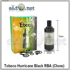 Tobeco Hurricane - обслуживаемый атомайзер. Ураган. Клон