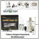 Tobeco Original Supertank KS - 7 ml - гибридный сабомный / обслуживаемый атомайзер.